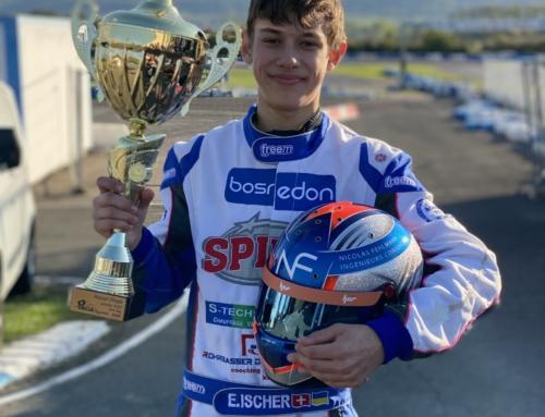 Sponsoring: Belle saison d'Ethan ISCHER en Karting